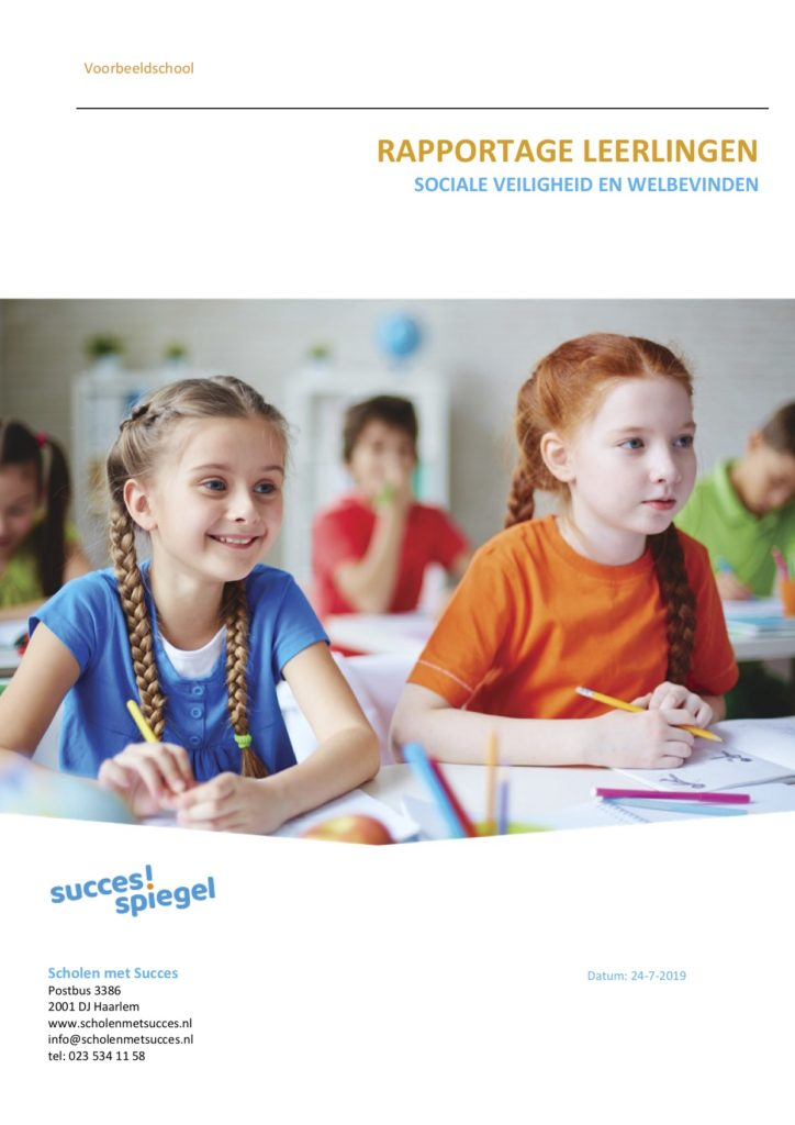 Rapportage Sociale veiligheid en welbevinden